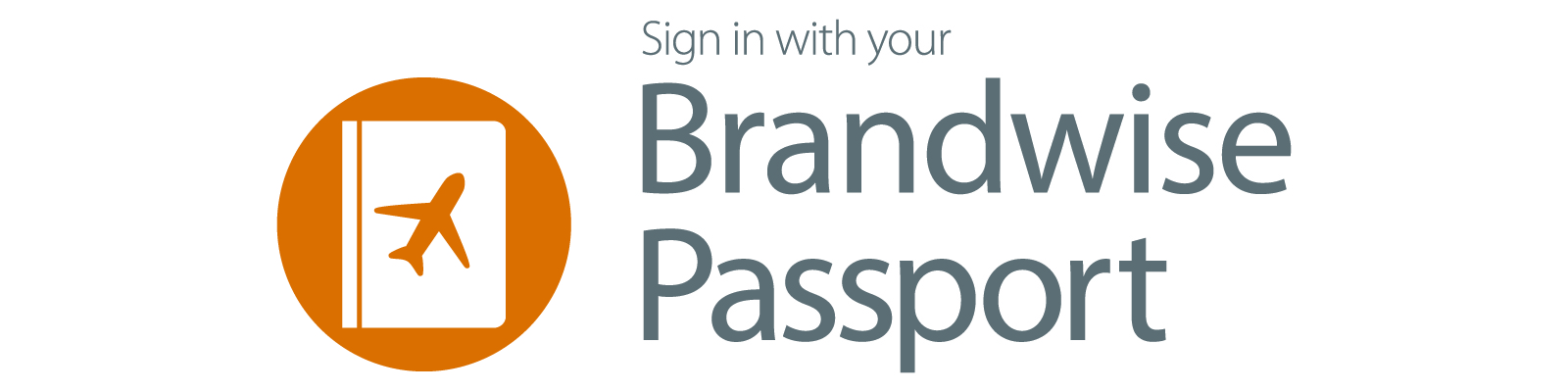 Sign in with your Brandwise Passport logo